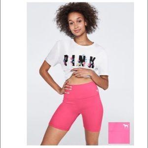 PINK Victoria Secret YOGA shorts : size Medium